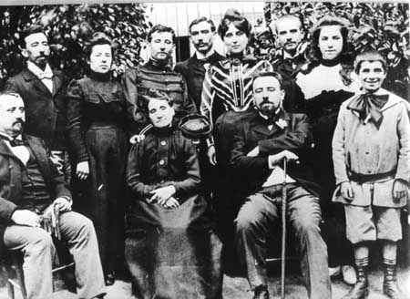 Famille Navarre 1910