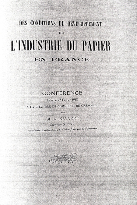Couverture Discours AN 1918